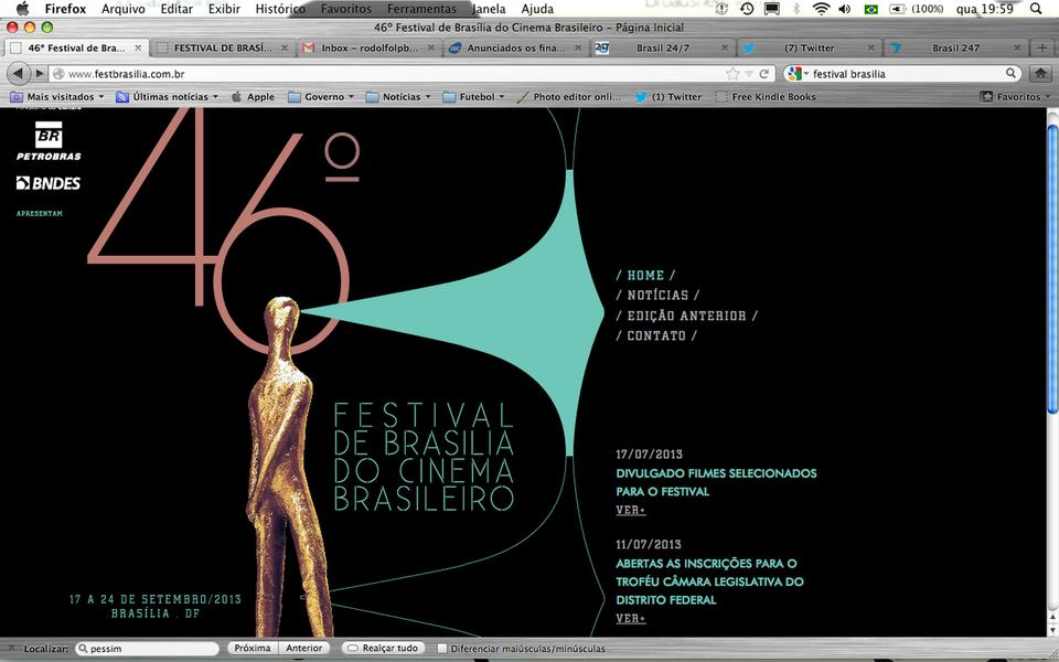 Saem os finalistas do 46º Festival de Brasília