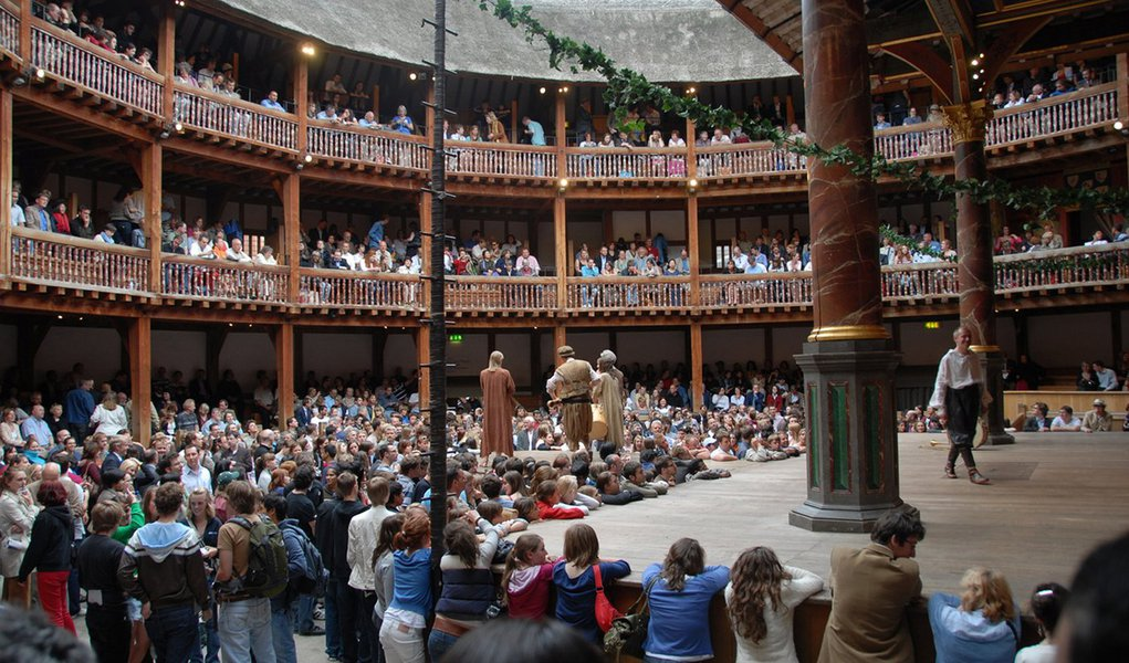 "Teatro Globe apresentará ""Hamlet"" mundo afora"