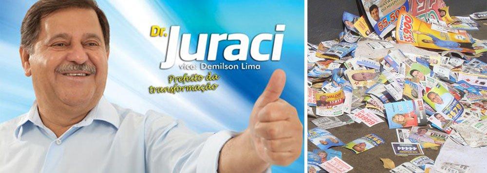 Justiça multa candidatos sujões de Rio Verde