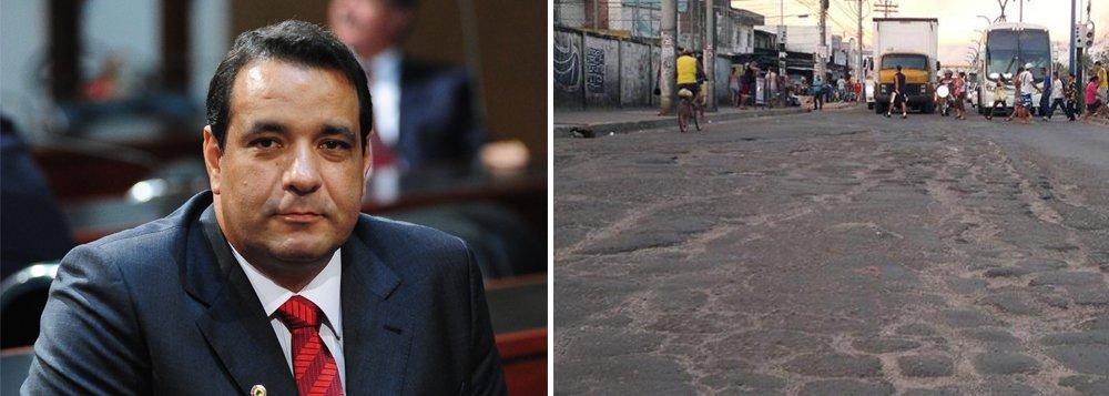 Alan: tapar buraco não resolve problemas no asfalto