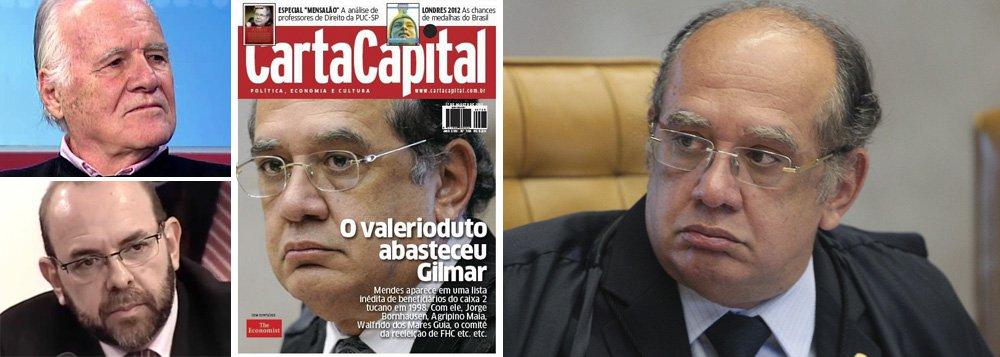 MP denuncia Carta Capital por acusação a Gilmar
