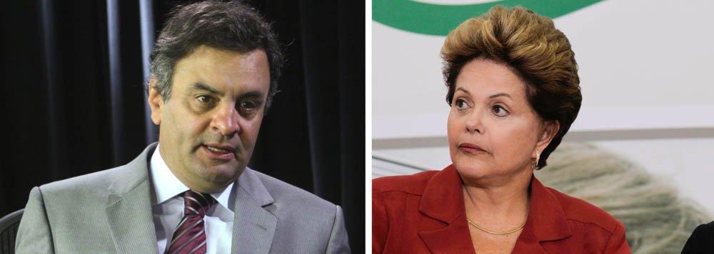 """Aécio a Dilma: """"O Brasil não precisa de ufanismo"""""""