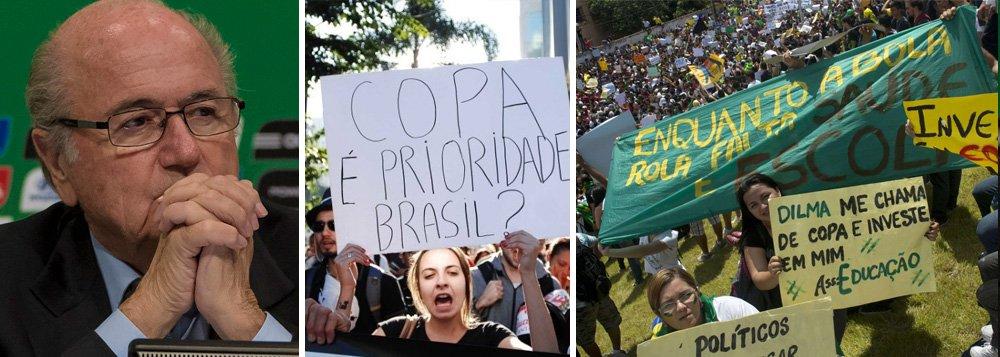 Blatter: Brasil pode ter sido escolha errada
