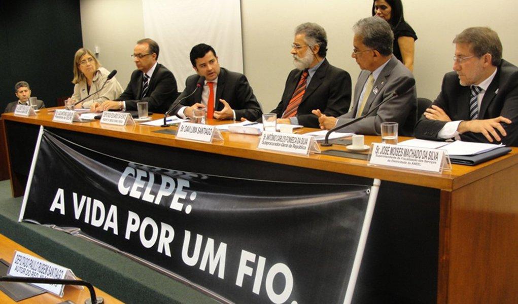 MPF sugere afastamento do presidente da Celpe