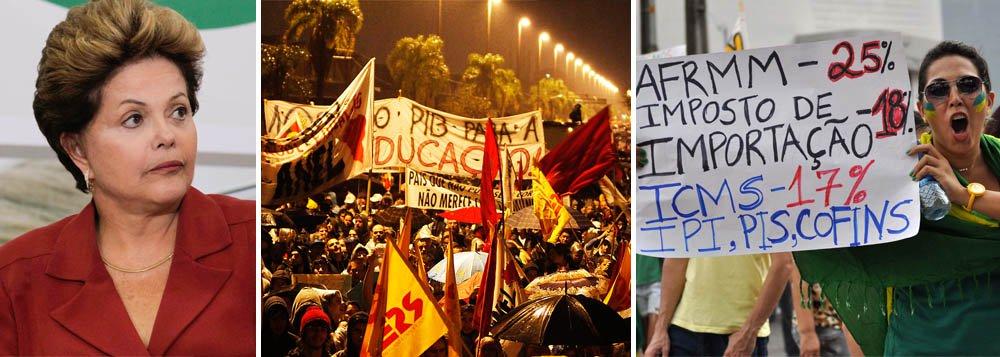 Governo prevê protestos na JMJ e em 7 de setembro