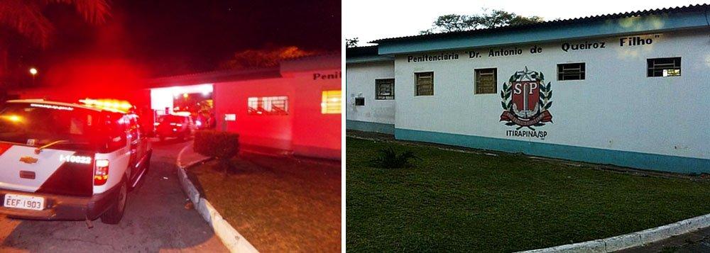 Parentes viram reféns em Penitenciária de Itirapina