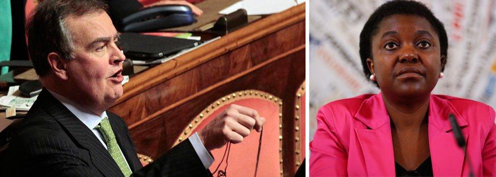 Senador italiano compara ministra negra a orangotango