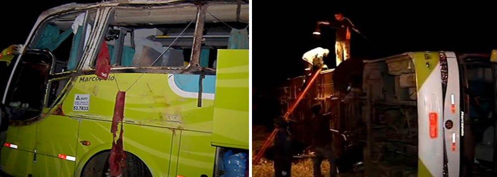 Morre 11ª vítima de acidente com ônibus em MG