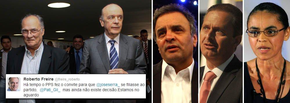 Freire confirma convite presidencial a Serra