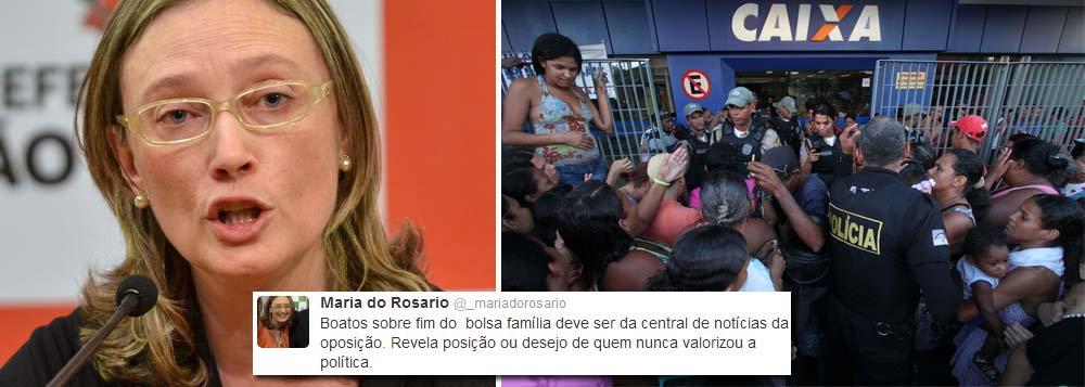 Rosário mantém silêncio sobre Bolsa-Família
