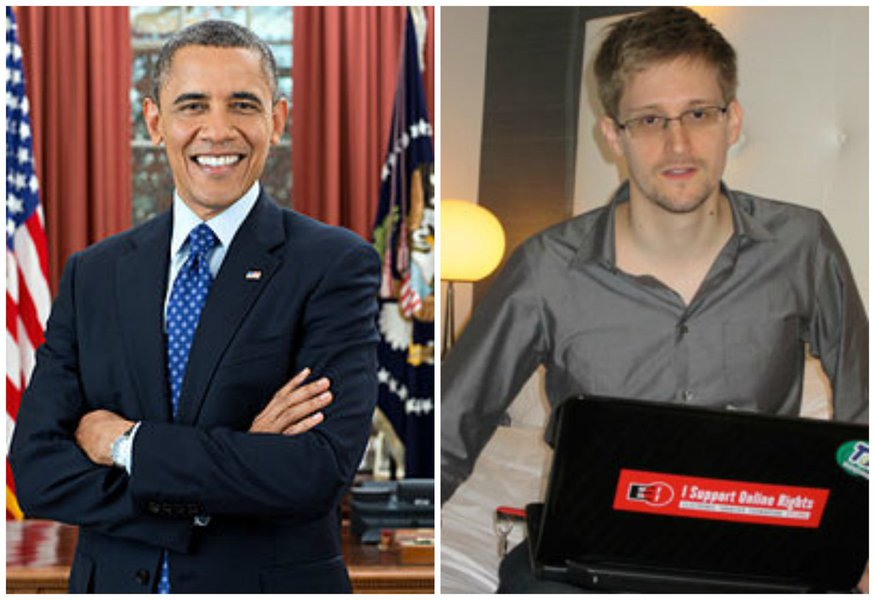 Obama conversa com presidente russo sobre Snowden