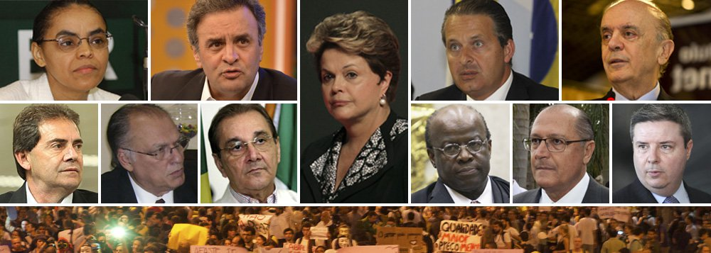 Oposição se multiplica, afia discurso e cerca Dilma
