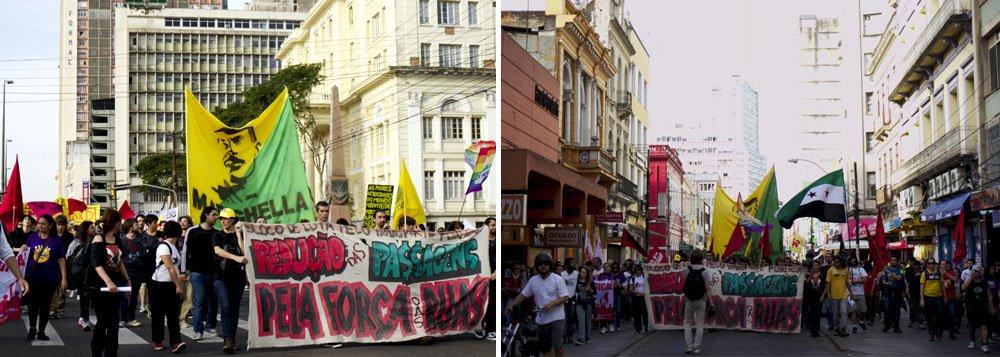 Marcha termina com apoio à ocupação da Câmara