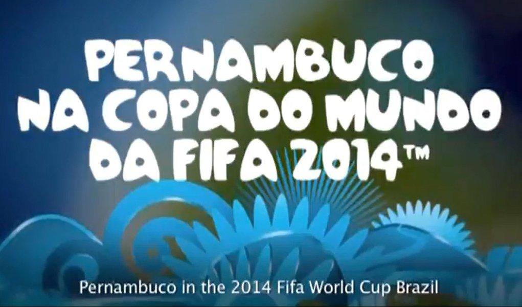 """Fifa """"apresenta"""" Pernambuco em vídeo"""