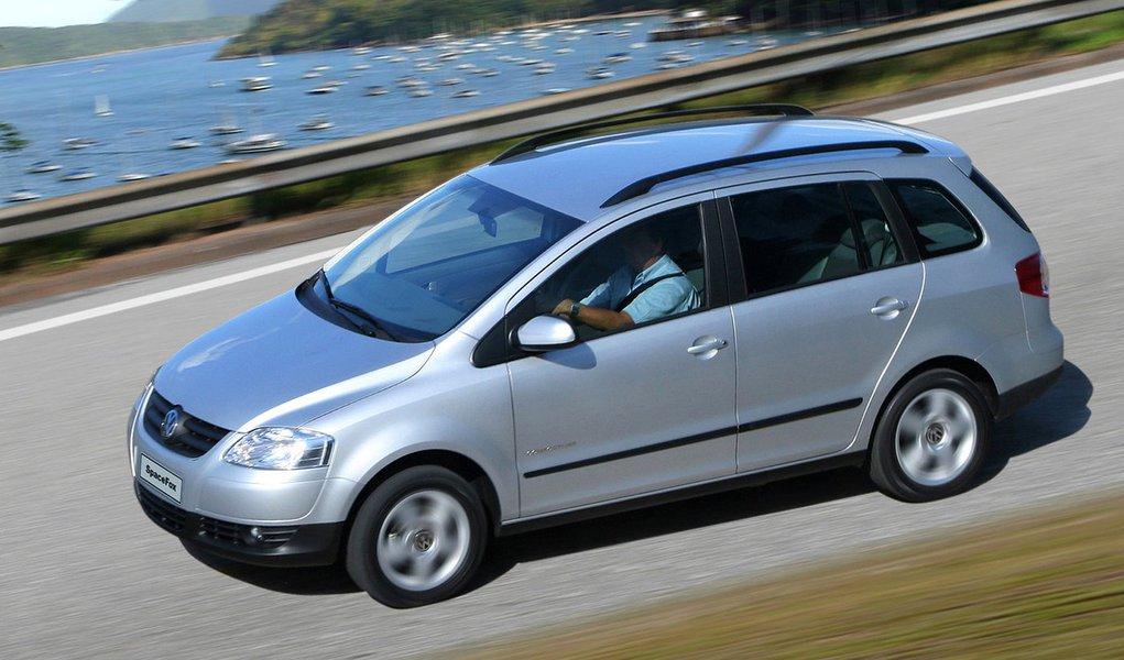 Volkswagen faz recall de 12,6 mil veículos Spacefox