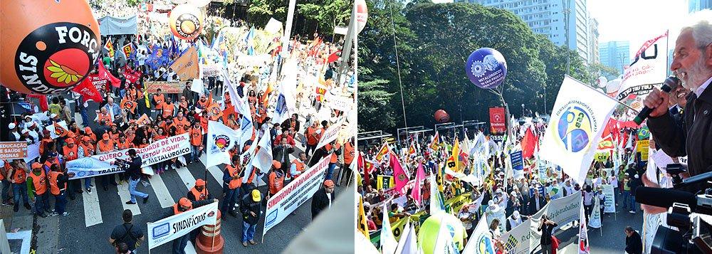 Folha 'denuncia' falsos manifestantes na Paulista