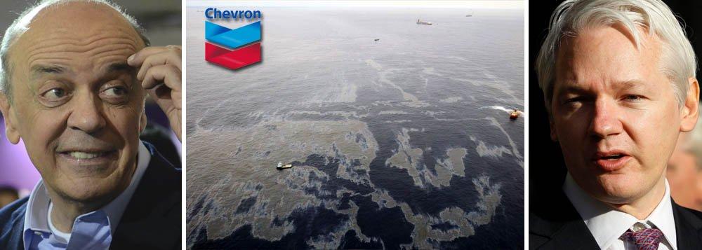 Serra prometeu à Chevron mudar regras do pré-sal