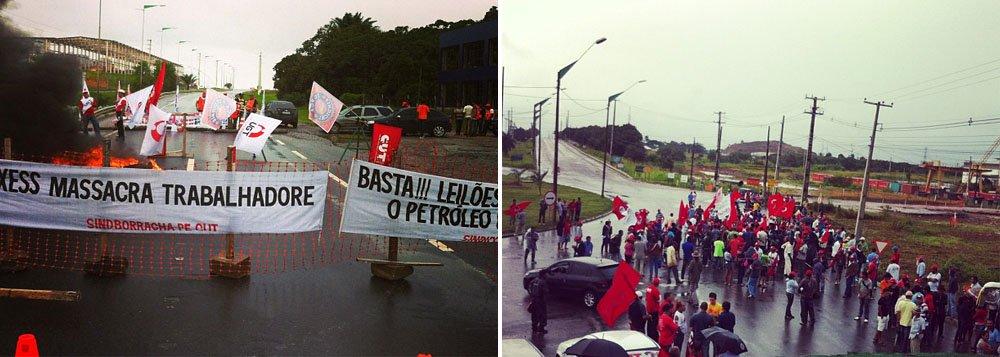 Protestos se espalham pelo Estado de Pernambuco