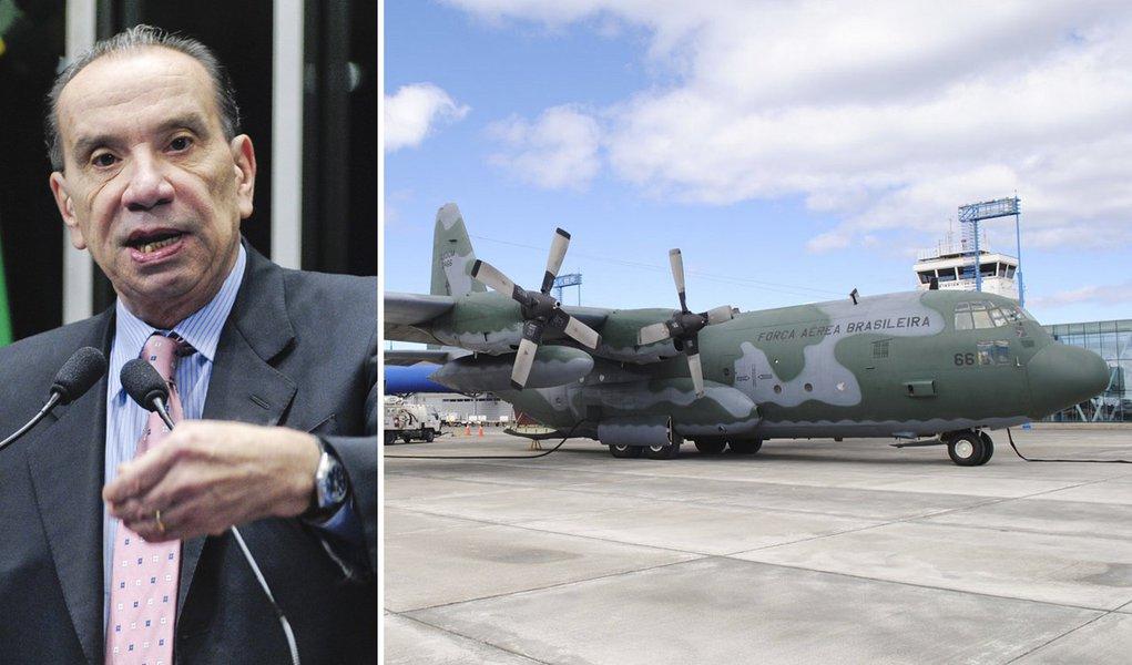 Defesa terá de enviar ao Senado lista de voos da FAB