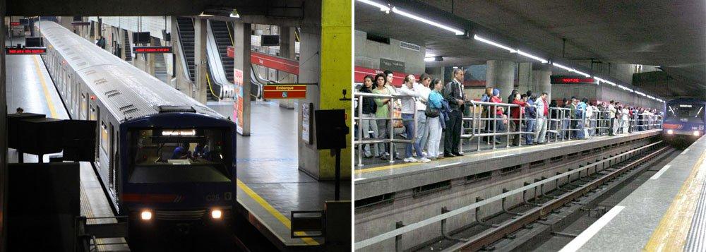 Justiça determina funcionamento integral do metrô em horário de pico