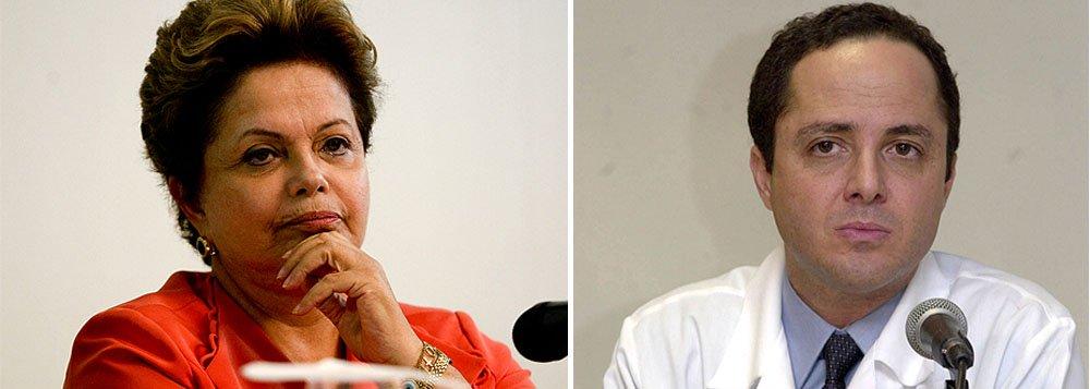 Contrariedade de médico pessoal irrita Dilma