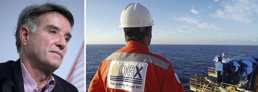 Eike quer dar petróleo como garantia à ANP...