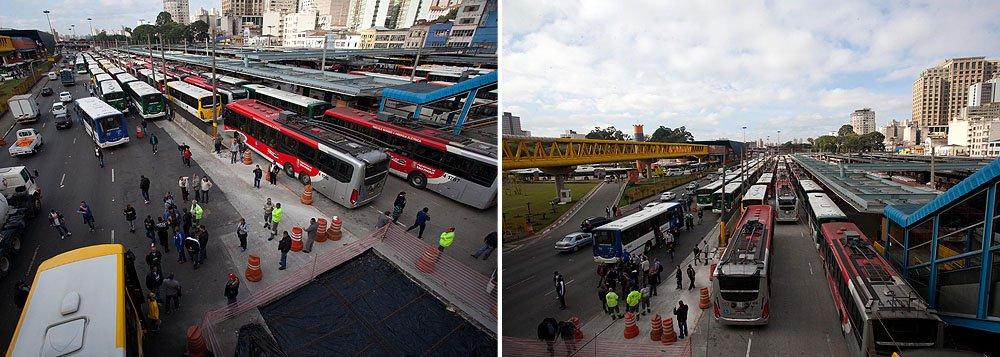 Disputa entre rodoviários para 400 linhas de ônibus em São Paulo