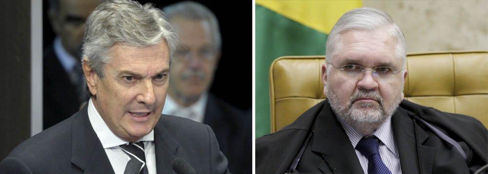 """Collor fustiga Gurgel: """"Ímprobo e chantagista"""""""