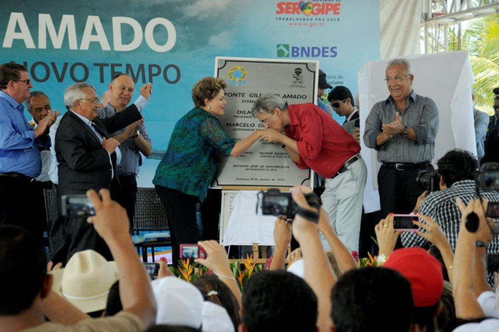 Déda entra na lista dos queridinhos de Dilma