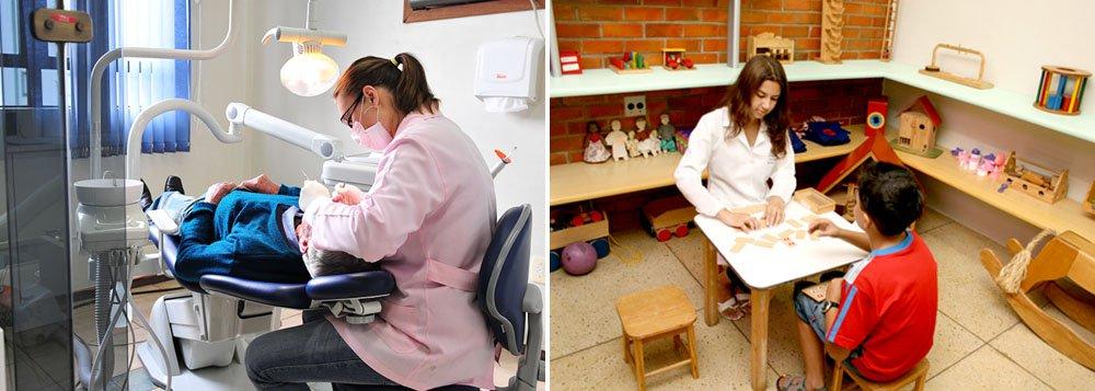 Dentistas e psicólogos também podem ser obrigados a passar pelo SUS