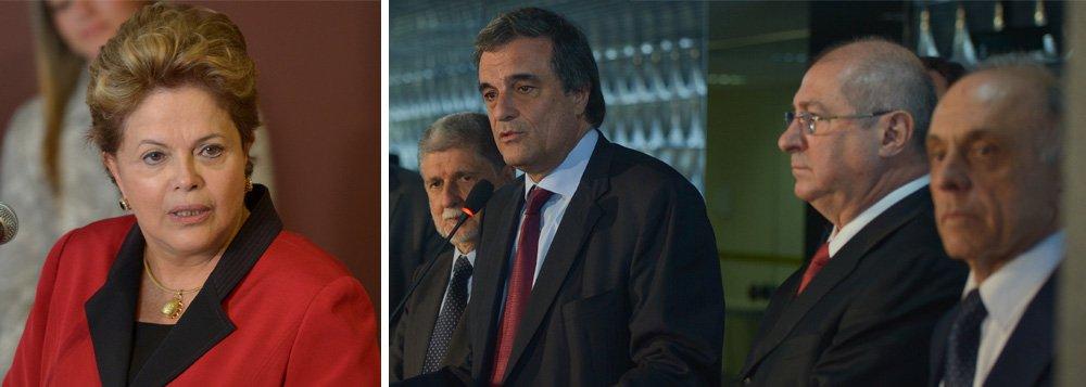 Dilma discute reação a denúncias de espionagem