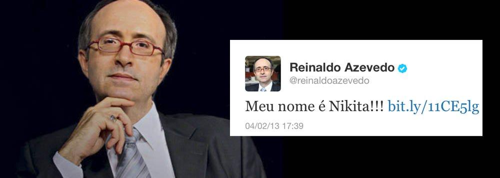"""""""Meu nome é Nikita!!!"""", diz Reinaldo"""