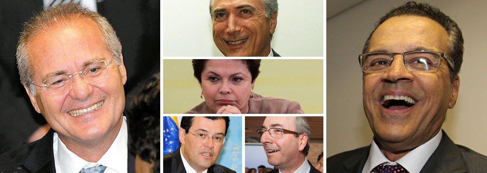 Cerco do PMDB limita movimentos de Dilma