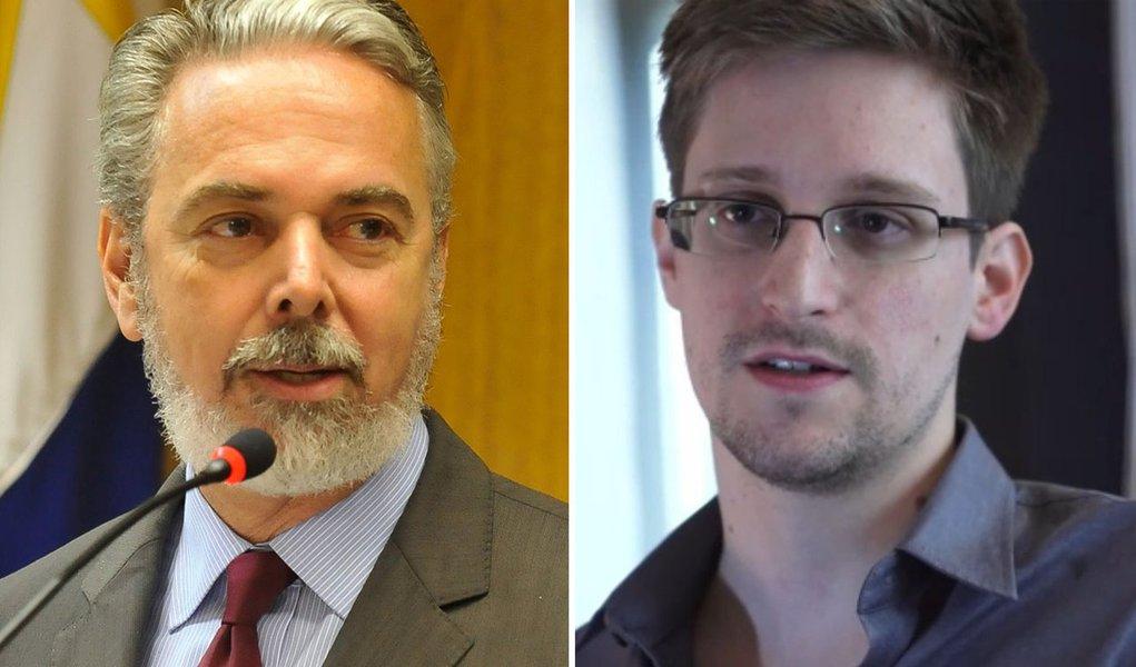 Patriota diz que Brasil não concederá asilo a Snowden