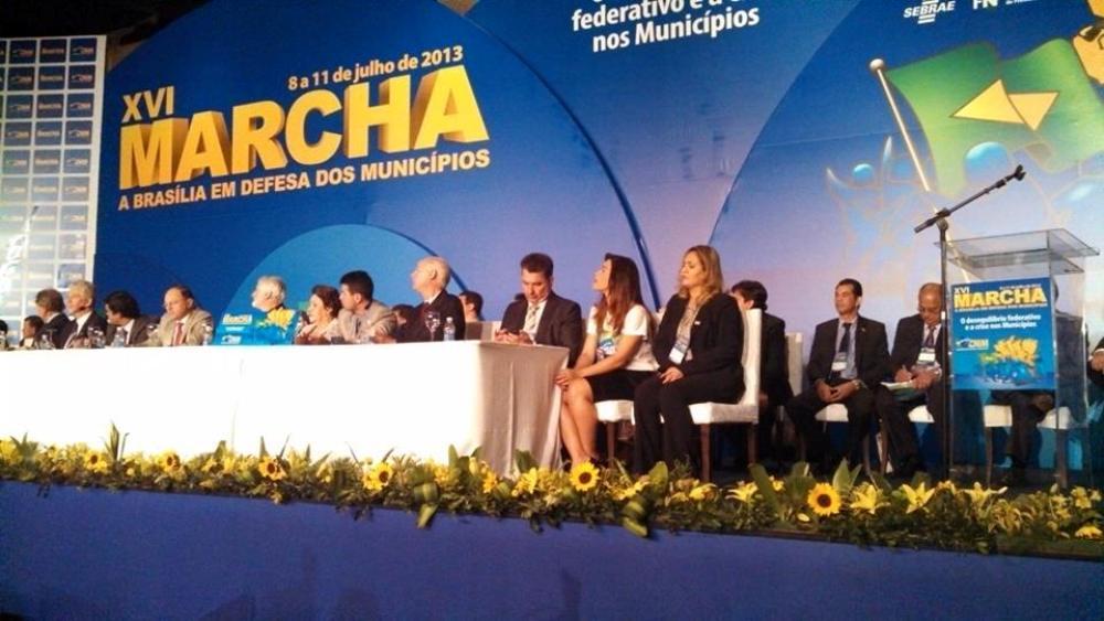 Prefeitos de Sergipe marcham a Brasília por mais recursos