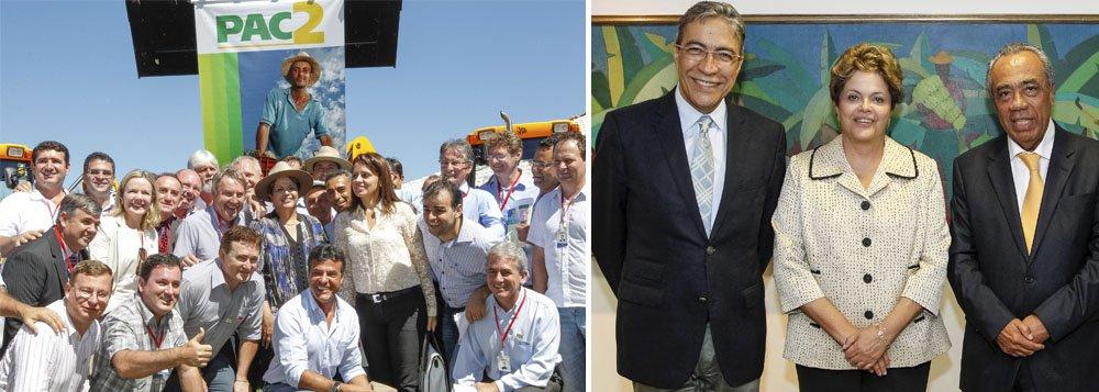 Aproximação entre Déda e João Alves vê exemplo na presidente Dilma