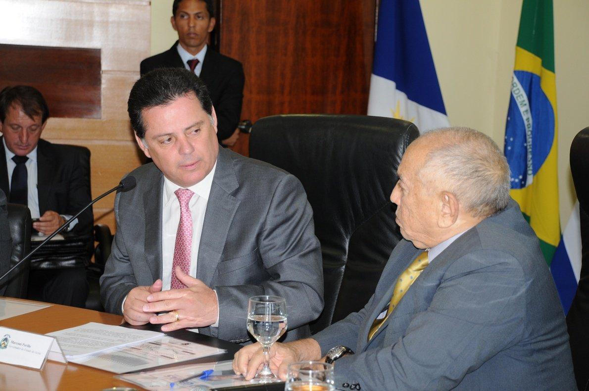 Perillo e Siqueira Campos se unem na guerra do ICMS