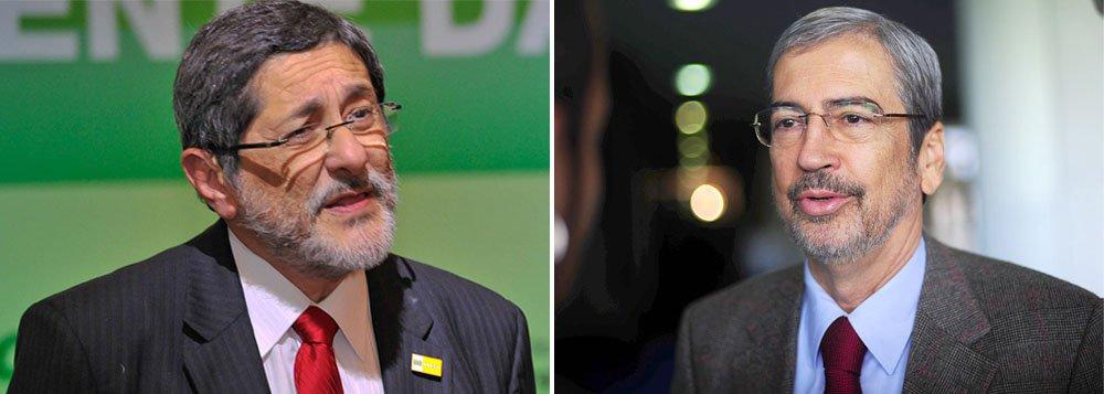 Gabrielli não fala sobre a Petrobras