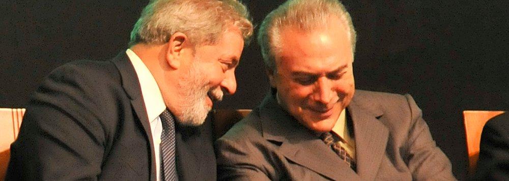 Lula pensa em Temer para ganhar 2014 em São Paulo