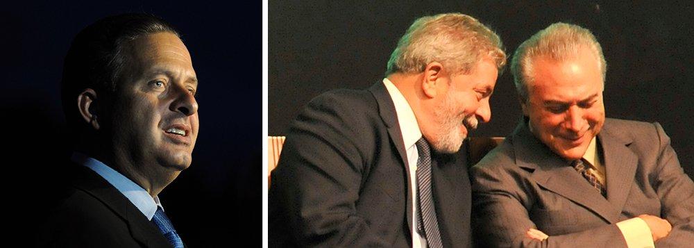 Lula vê Temer em SP para acomodar Dudu na vice