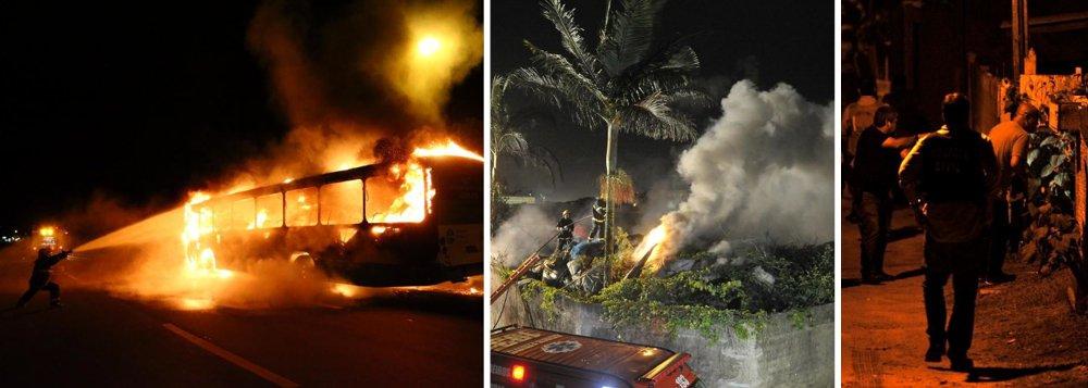 Santa Catarina sofre com mais 12 atentados