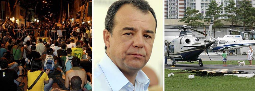 Deputados pedem impeachment de Cabral