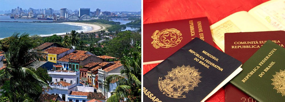 Estrangeiros redescobrem a Região Nordeste