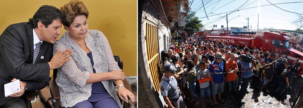 Dilma inclui desabrigados de Heliópolis no Minha Casa