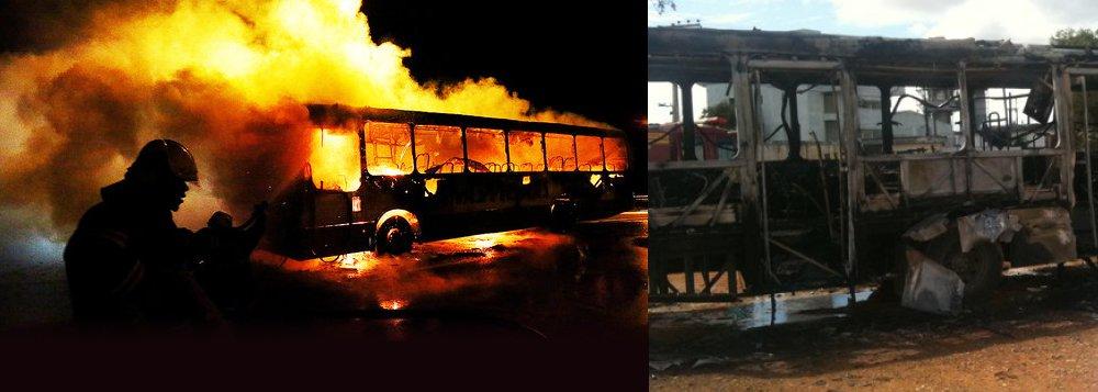Atentados e chamas transtornam Santa Catarina