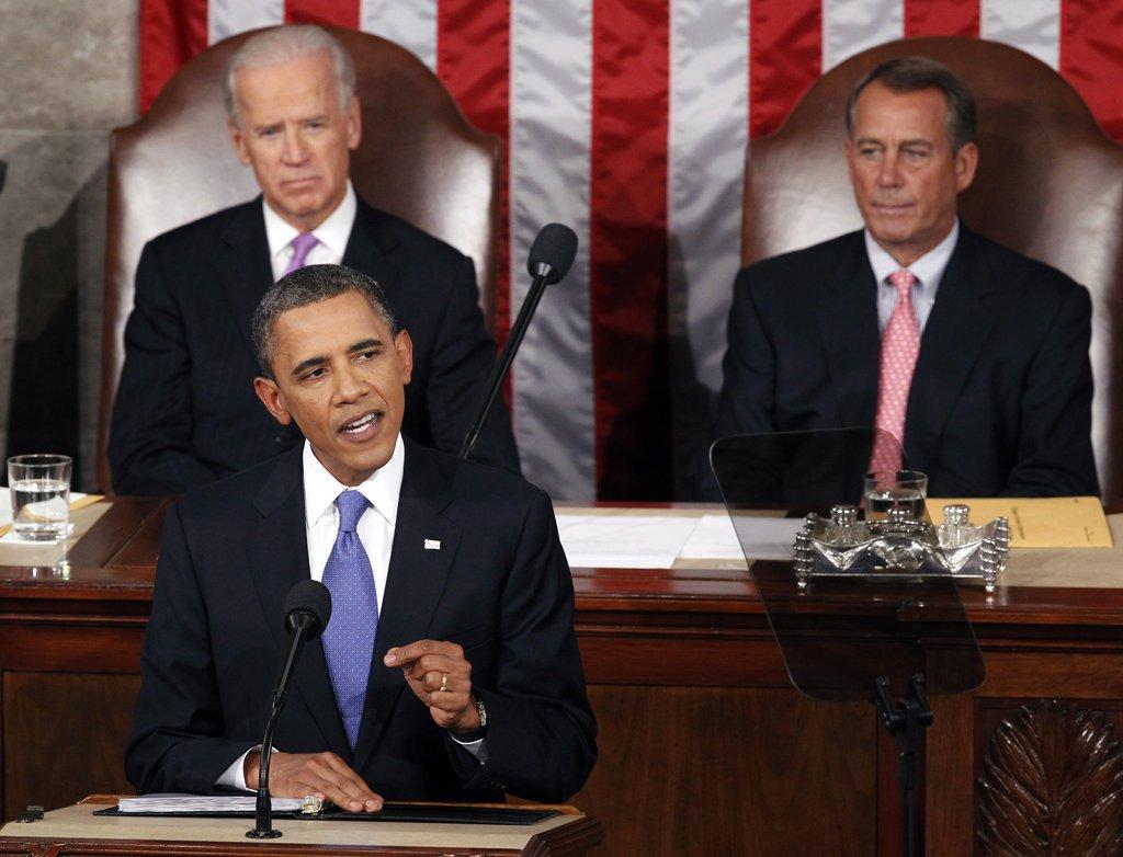 Obama culpa Congresso por queda no PIB
