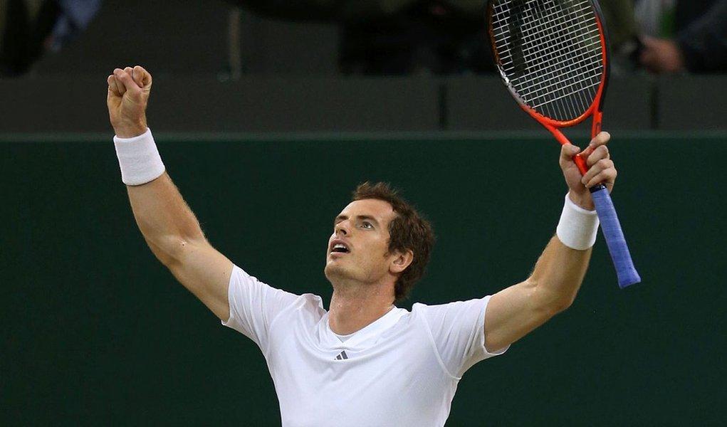 Murray quebra tabu e faz história em Wimbledon