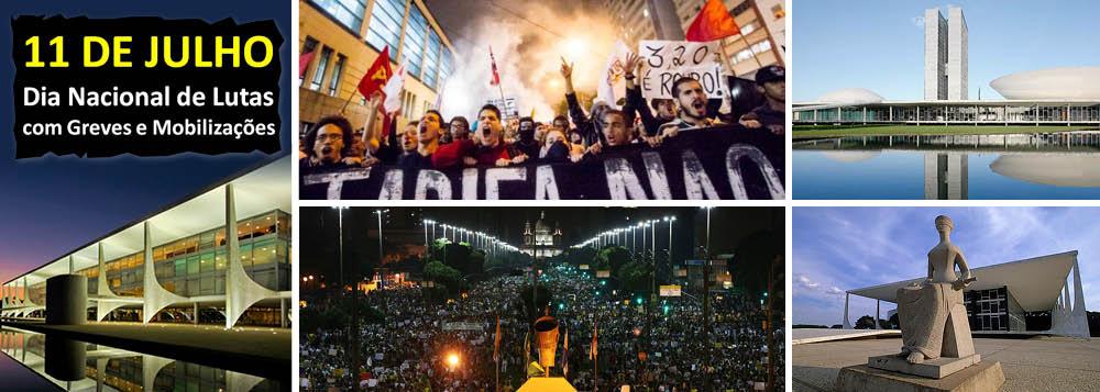 Segunda onda de protestos eleva pressão sobre o poder