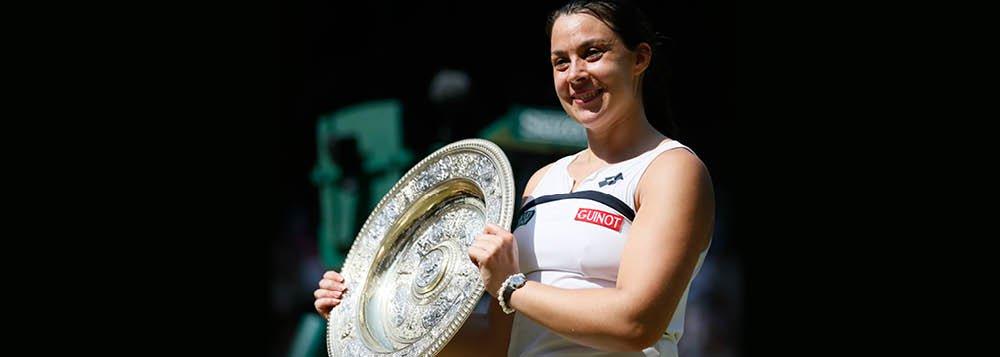 Francesa Bartoli fatura torneio de Wimbledon