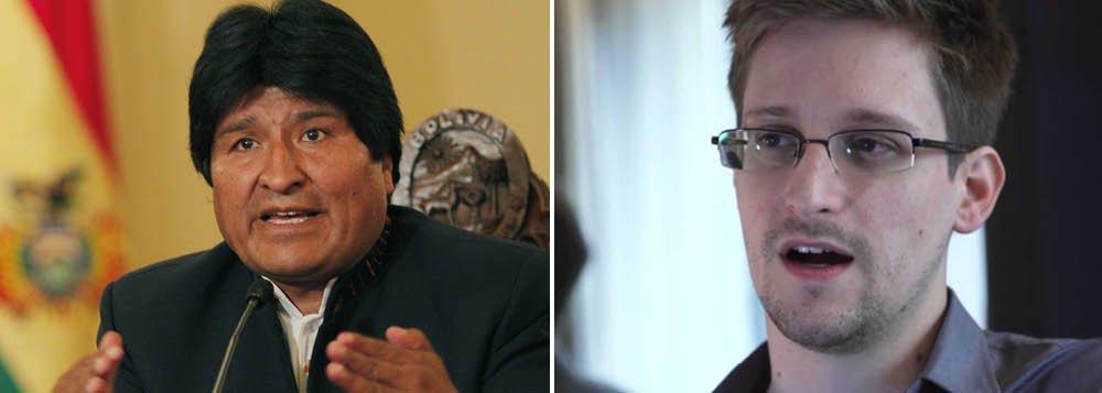 Em protesto contra Europa, Morales oferece asilo a Snowden